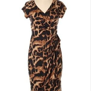 Leopard Plus Size dress